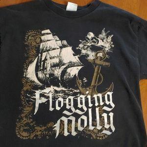 Vintage Flogging Molly mens medium shirt
